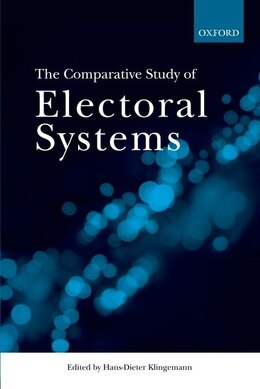 Book The Comparative Study of Electoral Systems by Hans-Dieter Klingemann