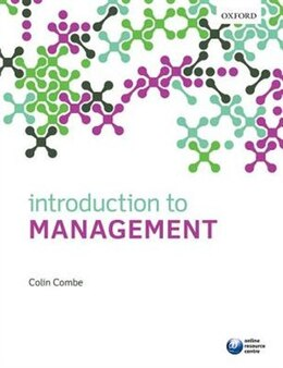 Book Introduction to Management by Colin Combe