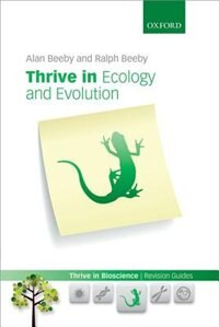 Book Thrive in Ecology and Evolution by Alan Beeby
