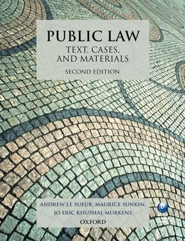 Book Public Law: Text, Cases, and Materials by Andrew Le Sueur