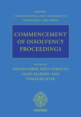 Book Commencement of Insolvency Proceedings by Dennis Faber
