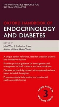 Book Oxford Handbook of Endocrinology and Diabetes by John Wass