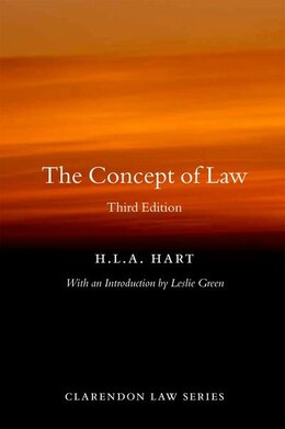 Book The Concept of Law by HLA Hart