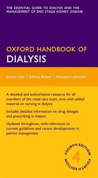 Book Oxford Handbook of Dialysis by Jeremy Levy