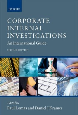 Book Corporate Internal Investigations: An International Guide by Paul Lomas