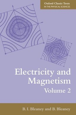 Book Electricity and Magnetism, Volume 2 by B.I. Bleaney
