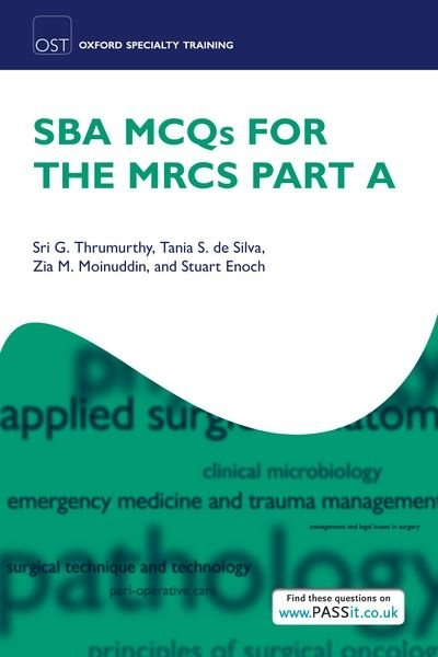 SBA MCQs for the MRCS Part A