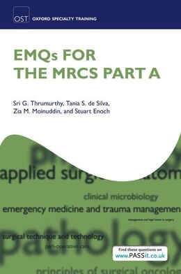 Book EMQs for the MRCS Part A by Sri G. Thrumurthy
