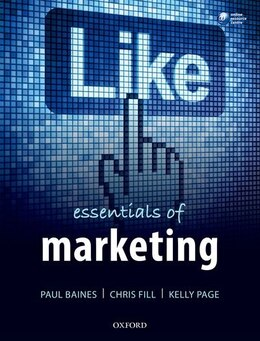Book Essentials of Marketing by Paul Baines