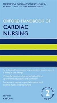 Book Oxford Handbook of Cardiac Nursing by Kate Olson