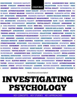 Book Investigating Psychology: key concepts, key studies, key approaches by Nicola Brace