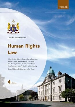 Book Human Rights Law by Brid Moriarty