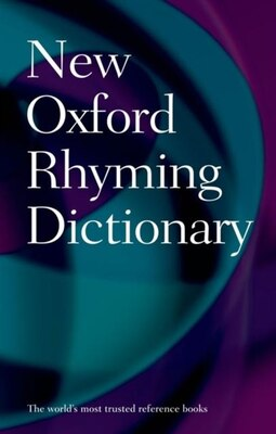 Book New Oxford Rhyming Dictionary by Oxford