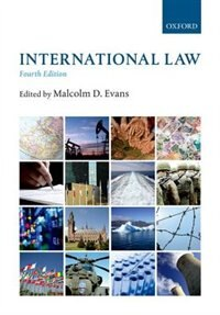 Book International Law by Malcolm Evans