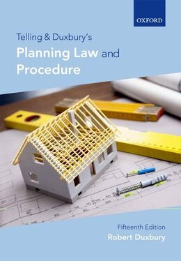 Book Telling and Duxburys Planning Law and Procedure by Robert Duxbury