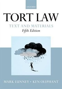 Book Tort Law: Text and Materials by Mark Lunney