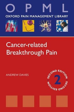 Book Cancer-related Breathrough Pain by Andrew Davies