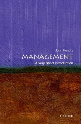 Book Management: A Very Short Introduction by John Hendry