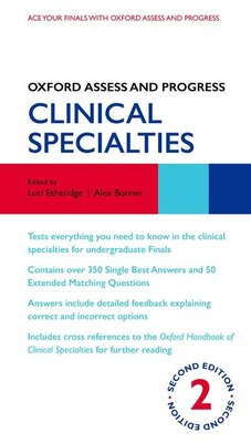 Book Oxford Assess and Progress: Clinical Specialties by Luci Etheridge
