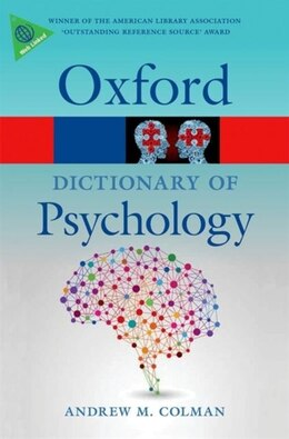 Book A Dictionary of Psychology by Andrew M. Colman