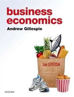Book Business Economics by Andrew Gillespie