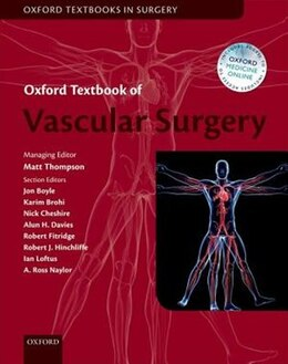 Book Oxford Textbook of Vascular Surgery by Matthew Thompson
