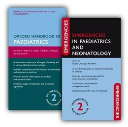 Book Oxford Handbook of Paediatrics and Emergencies in Paediatrics and Neonatology Pack by Robert McClure