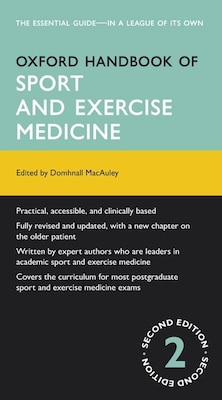 Book Oxford Handbook of Sport and Exercise Medicine by Domhnall MacAuley