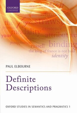 Book Definite Descriptions by Paul Elbourne