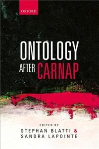 Book Ontology after Carnap by Stephan Blatti