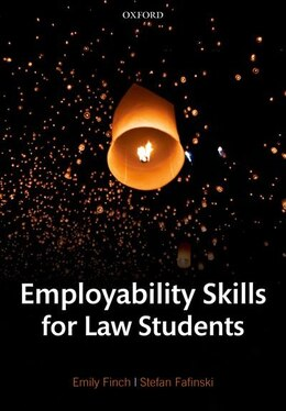 Book Employability Skills for Law Students by Emily Finch