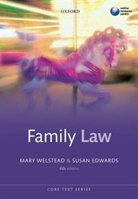 Book Family Law by Mary Welstead