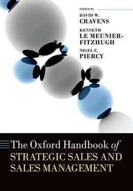 Book The Oxford Handbook of Strategic Sales and Sales Management by David W. Cravens