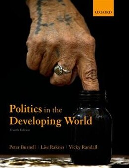 Book Politics in the Developing World by Peter Burnell