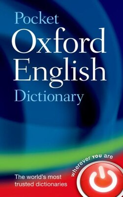 Book Pocket Oxford English Dictionary by Oxford Dictionaries