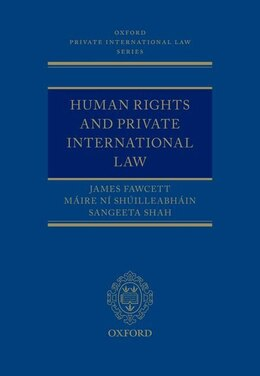 Book Human Rights and Private International Law by James Fawcett