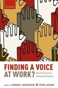 Book Finding a Voice at Work?: New Perspectives on Employment Relations by Stewart Johnstone