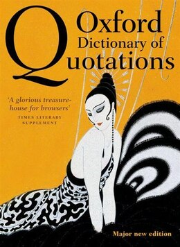 Book Oxford Dictionary of Quotations by Elizabeth Knowles