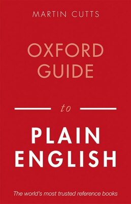 Book Oxford Guide to Plain English by Martin Cutts
