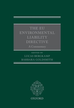 Book The EU Environmental Liability Directive: A Commentary by Lucas Bergkamp