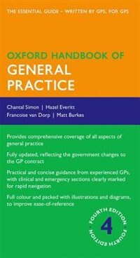 Book Oxford Handbook of General Practice by Chantal Simon