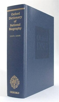Book Oxford Dictionary of National Biography 2005-2008 by Lawrence Goldman