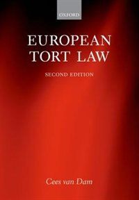 Book European Tort Law by Cees van Dam
