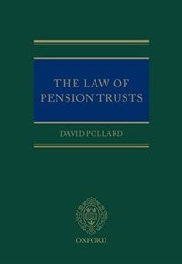Book The Law of Pension Trusts by David Pollard