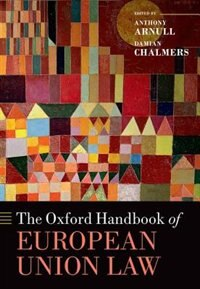 Book The Oxford Handbook of EU Law by Anthony Arnull
