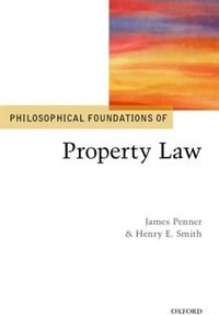 Book Philosophical Foundations of Property Law by James Penner