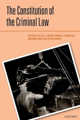 Book The Constitution of the Criminal Law by R.A. Duff