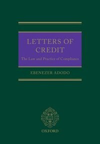Book Letters of Credit: Law and Practice on Compliance by Ebenezer Adodo