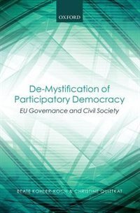 Book De-Mystification of Participatory Democracy: EU-Governance and Civil Society by Beate Kohler-Koch