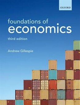 Book Foundations of Economics by Andrew Gillespie